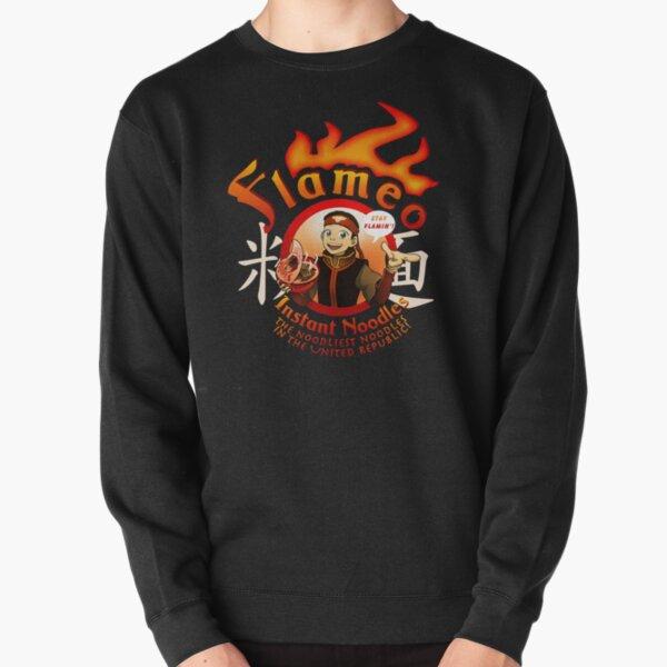 Flameo Instant Noodles! Pullover Sweatshirt