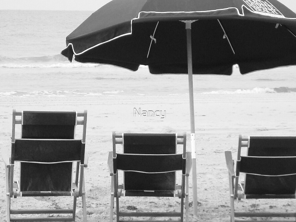 Beach Chairs by Nancy