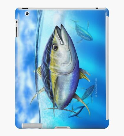 Yellowfin Tuna - Out of the Blue iPad Case/Skin