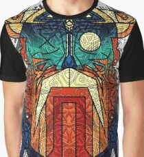 ODIN WODAN geometric vikings ornament art Graphic T-Shirt