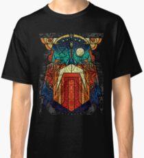 ODIN WODAN geometric vikings ornament art Classic T-Shirt