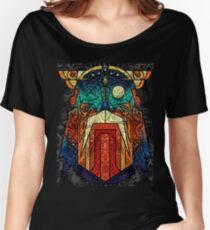 ODIN WODAN geometric vikings ornament art Women's Relaxed Fit T-Shirt