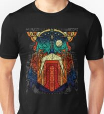 ODIN WODAN geometric vikings ornament art Unisex T-Shirt