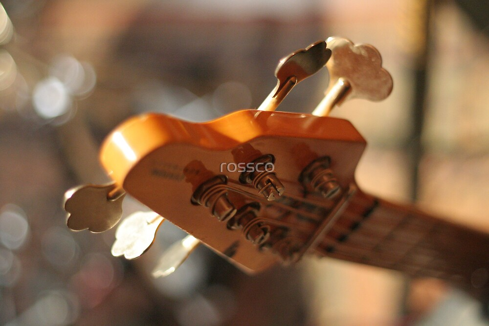 Bass Guitar's Headstock by rossco
