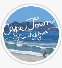 Cape Town Sticker