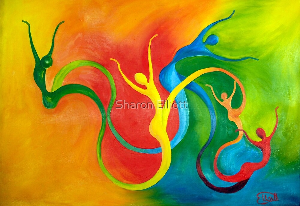 Rhythm Of Life by Sharon Elliott