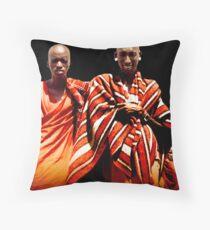 Maasai Throw Pillow