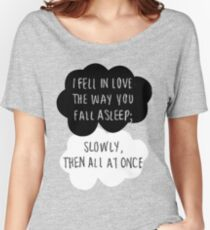 I Fell in Love the Way You Fall Asleep Women's Relaxed Fit T-Shirt