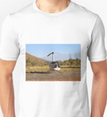 Helicopter (white), Outback Australia 2 T-Shirt