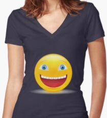 lol Women's Fitted V-Neck T-Shirt