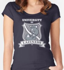 Our University Women's Fitted Scoop T-Shirt