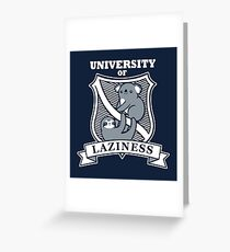 Our University Greeting Card