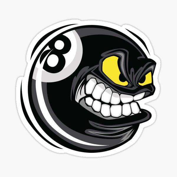 8 ball Billiards Sticker