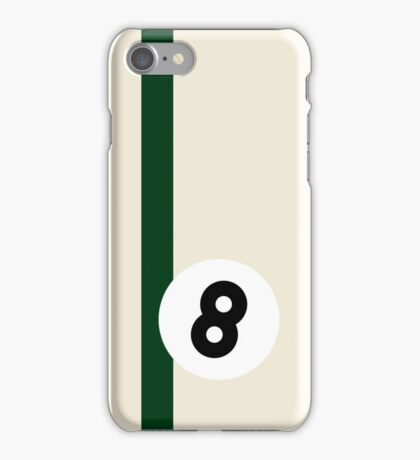 Eight Ball - White iPhone Case/Skin