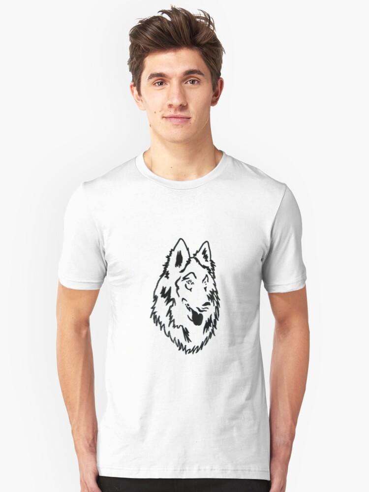 Groenendael/Tervueren Unisex T-Shirt Front