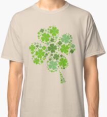 Clover illustration for Ireland fans Classic T-Shirt