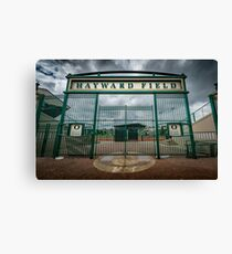 College - Hayward Field - University of Oregon Sports Track PNW Canvas Print