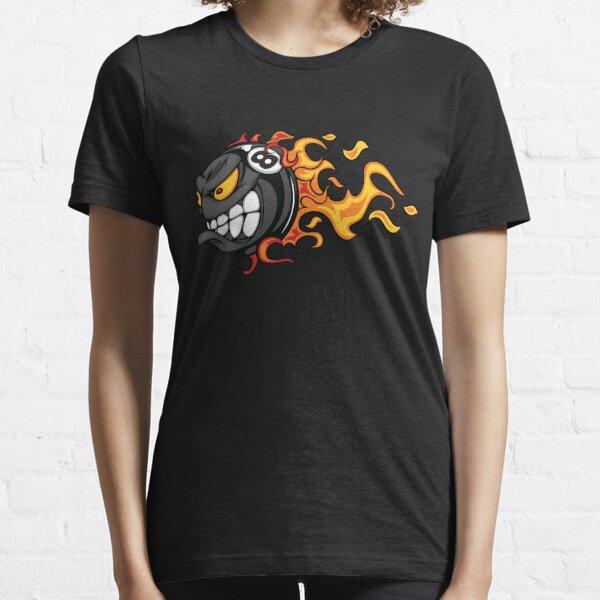 Billiars pool ball in flames Essential T-Shirt