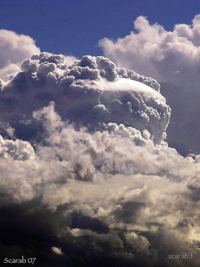 Monster Clouds by scarab3