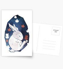 Sleepy Bunny Postcards