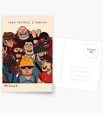 Team Fortress 2 / All Class Postcards