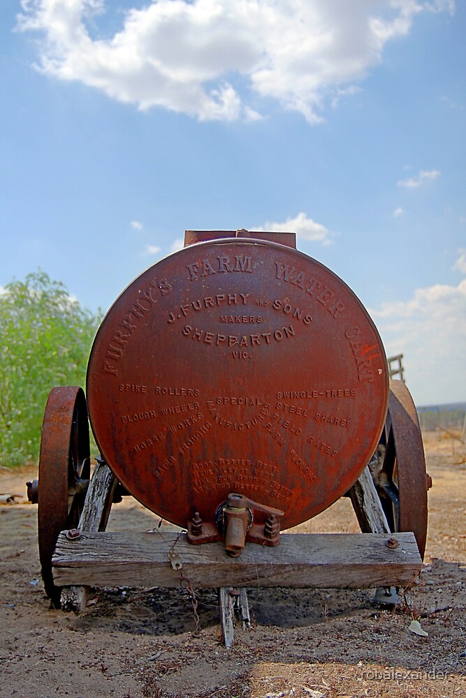Furphy Tank by robalexander