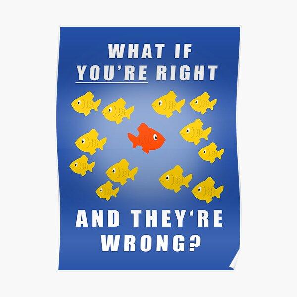 Fargo fish Poster