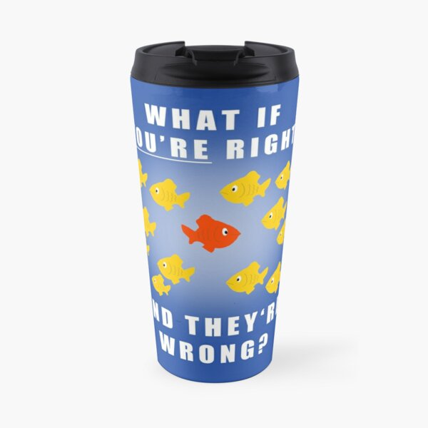 Fargo fish Travel Mug
