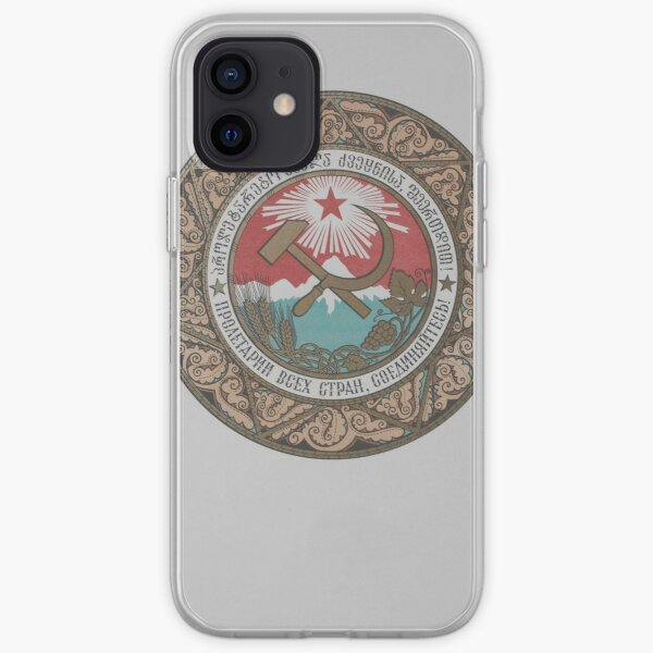 coat of arms of the Georgia iPhone Soft Case