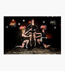 Hullywood Icons -  Emma Palmer, Sophie Buckley,  Zoe Lyon Photographic Print