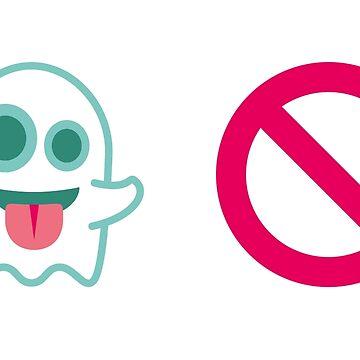 Ghostbusters Emoji Graphic by barrowandcole