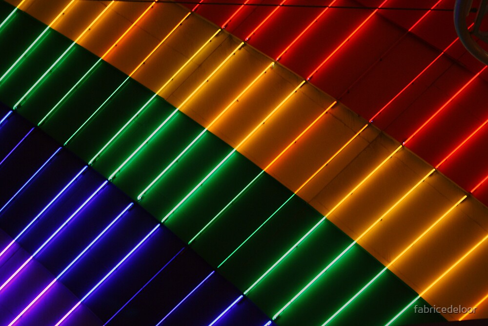 lights of colours (Las Vegas - 2007) by fabricedeloor