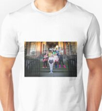 Hullywood Icons - Louise Harman, Janet Pound, Nom McCarthy,, Kirsty Gutherlass Carla Nevarato Lynne Kirby, Pam McArdle, Bryonie Booth, Shirley Mcwatt and Ruth Austin  Unisex T-Shirt