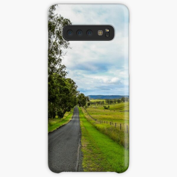 Country Roads - Out Near Mt Barney Samsung Galaxy Snap Case