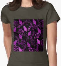 Watercolor Floral and Cat II T-Shirt