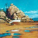 Picnic Bay Dingy by Cary McAulay