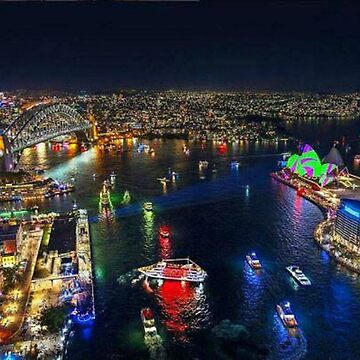 Sydney Lights by Jtunes84