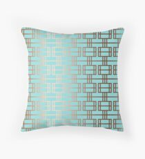 Copper One Throw Pillow