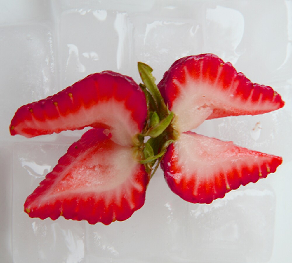 Strawberry Butterfly by ilkalora
