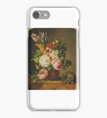 circle of franz xaver petter, roses, tulips, forget me not iPhone Case/Skin