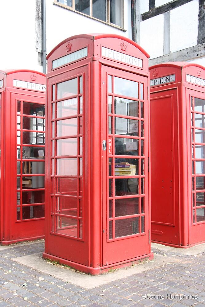 English Phone Box by Justine Humphries