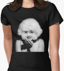 The lady in the radiator Women's Fitted T-Shirt
