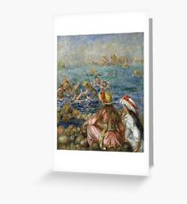 Auguste Renoir - The Bathers 3 Greeting Card