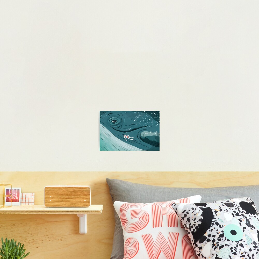 Whale dive Photographic Print