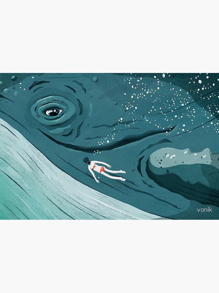 Whale dive by vonik