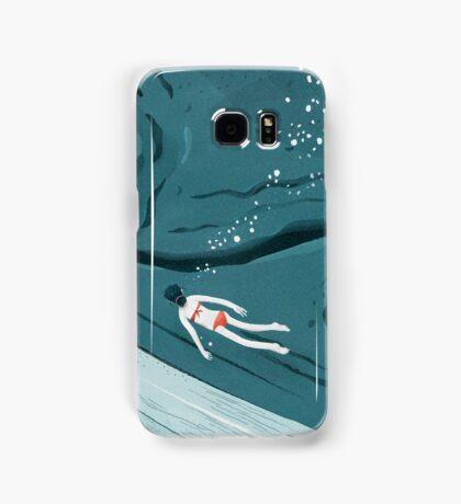 Whale dive Samsung Galaxy Case/Skin