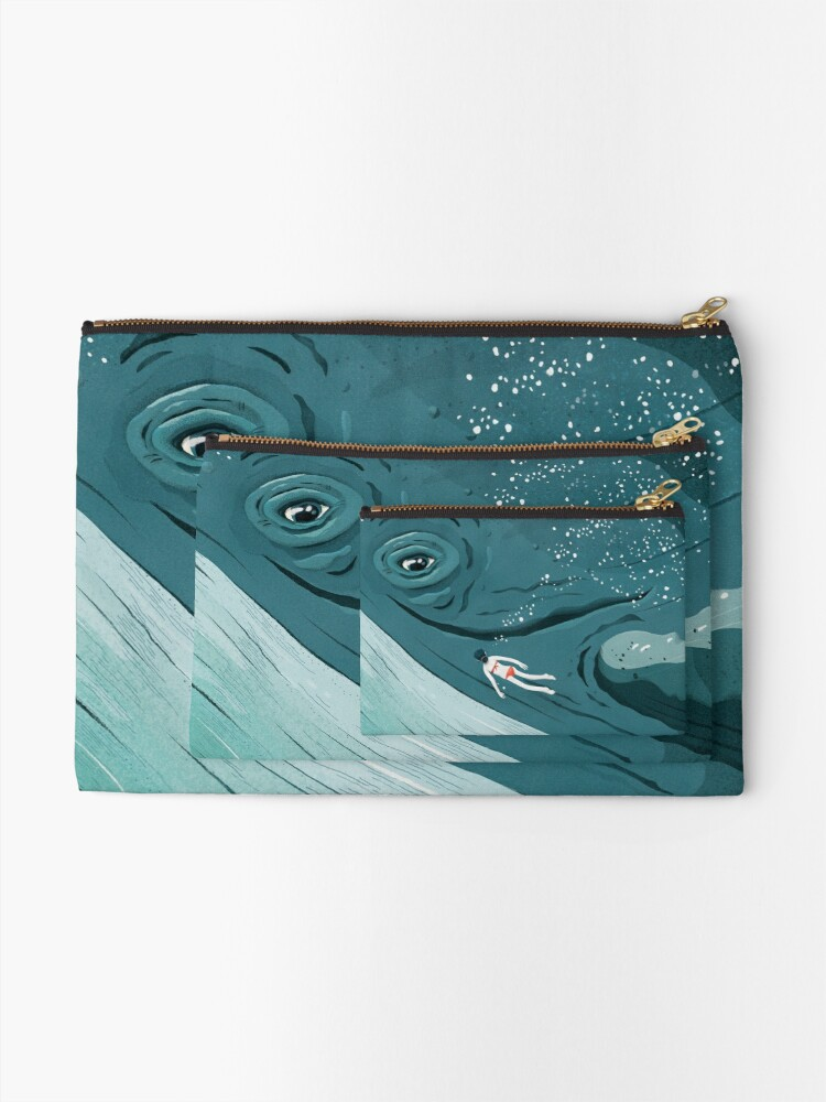 Alternate view of Whale dive Zipper Pouch
