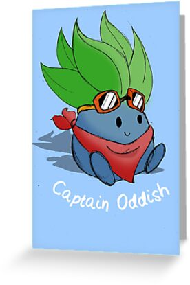 Captain Oddish Sketch by dannyb0nney