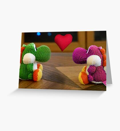 NDVH Yoshi Love Greeting Card