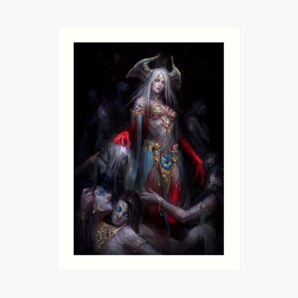 Ars Goetia - Gremory Art Print